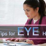 How to Provide Good Eye Health & Maintaining Eye Sight-min